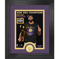 Anthony Davis 2020 NBA Champion Los Angeles Lakers Bronze Coin Photo Mint