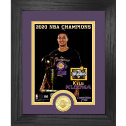 Kyle Kuzma 2020 NBA Champion Los Angeles Lakers Bronze Coin Photo Mint