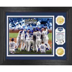 "Los Angeles Dodgers 2020 World Series Champions ""Celebration"" Bronze Coin Photo Mint"
