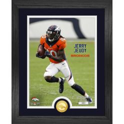Jerry Jeudy Denver Broncos Bronze Coin Photo Mint