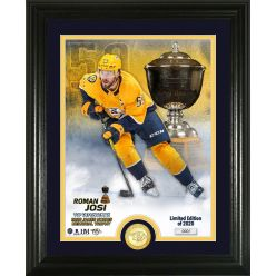 Roman Josi Norris Trophy Winner Bronze Coin Photo Mint