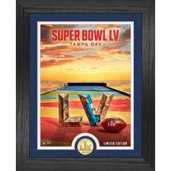 Super Bowl 55 Bronze Coin Photo Mint