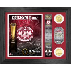 "Alabama Crimson Tide 2020/21 College Football National Champions ""Banner"" Bronze Coin Photo Mint"
