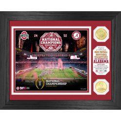 Alabama Crimson Tide 2020/21 College Football National Champions Celebration Bronze Coin Photo Mint