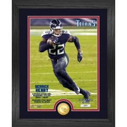 Derrick Henry 2020 NFL Rushing Title Bronze Coin Photo Mint