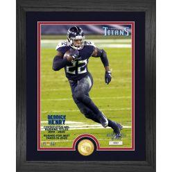 Derrick Henry 2020 NFL Rushing Title Bronze Coin Photo Mint