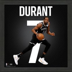 Kevin Durant Impact Jersey Framed Photo