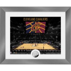 Cleveland Cavaliers Art Deco Silver Coin Photo Mint