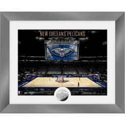 New Orleans Pelicans Art Deco Silver Coin Photo Mint