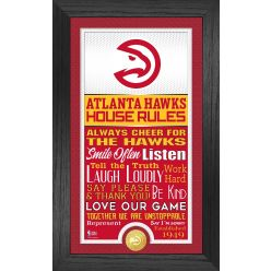 Atlanta Hawks House Rules Supreme Bronze Coin Photo Mint