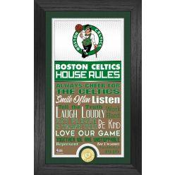 Boston Celtics House Rules Supreme Bronze Coin Photo Mint