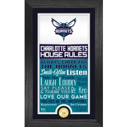 Charlotte Hornets House Rules Supreme Bronze Coin Photo Mint