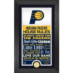 Indiana Pacers House Rules Supreme Bronze Coin Photo Mint