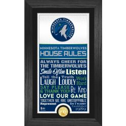 Minnesota Timberwolves House Rules Supreme Bronze Coin Photo Mint