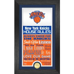 New York Knicks House Rules Supreme Bronze Coin Photo Mint