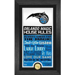 Orlando Magic House Rules Supreme Bronze Coin Photo Mint