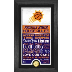Phoenix Suns House Rules Supreme Bronze Coin Photo Mint