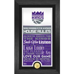 Sacramento Kings House Rules Supreme Bronze Coin Photo Mint