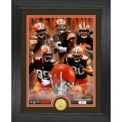 Cleveland Browns Team Force Bronze Coin Photo Mint
