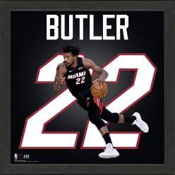 Jimmy Butler Impact Jersey Framed Photo