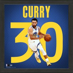 Stephen Curry Impact Jersey Framed Photo