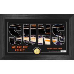 Phoenix Suns Silhouette Bronze Coin Photo Mint