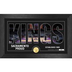 Sacramento Kings Silhouette Bronze Coin Photo Mint