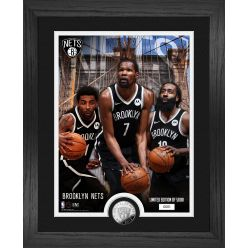 Brooklyn Nets Team Force Silver Coin Photo Mint