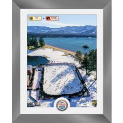 Bruins vs Flyers NHL 2021 Lake Tahoe Outdoor Game Silver Coin Photo Mint