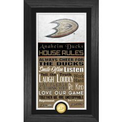 Anaheim Ducks House Rules Supreme Bronze Coin PhotoMint