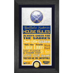Buffalo Sabres House Rules Supreme Bronze Coin PhotoMint