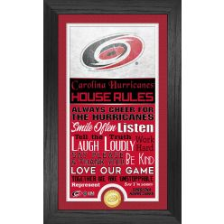 Carolina Hurricanes House Rules Supreme Bronze Coin PhotoMint