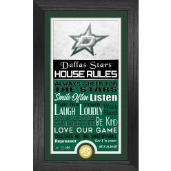 Dallas Stars House Rules Supreme Bronze Coin PhotoMint