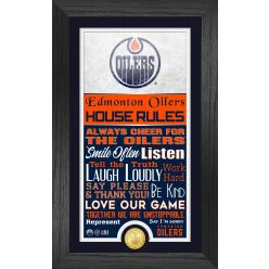 Edmonton Oilers House Rules Supreme Bronze Coin PhotoMint