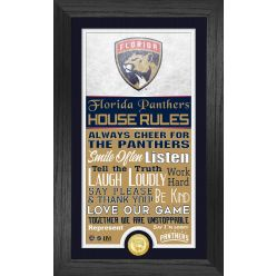 Florida Panthers House Rules Supreme Bronze Coin PhotoMint