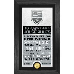 Los Angeles Kings House Rules Supreme Bronze Coin PhotoMint