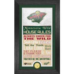 Minnesota Wild House Rules Supreme Bronze Coin PhotoMint