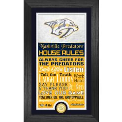 Nashville Predators House Rules Supreme Bronze Coin PhotoMint