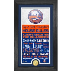 New York Islanders House Rules Supreme Bronze Coin PhotoMint