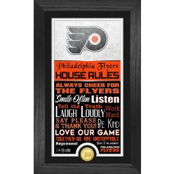 Philadelphia Flyers House Rules Supreme Bronze Coin PhotoMint