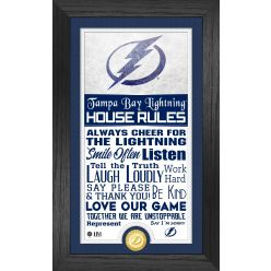 Tampa Bay Lightning House Rules Supreme Bronze Coin PhotoMint