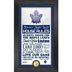 Toronto Maple Leafs House Rules Supreme Bronze Coin PhotoMint