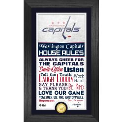 Washington Capitals House Rules Supreme Bronze Coin PhotoMint