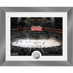 Florida Panthers Art Deco Silver Coin Photo Mint