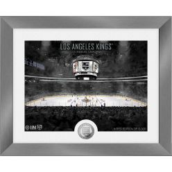 Los Angeles Kings Art Deco Silver Coin Photo Mint