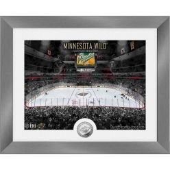 Minnesota Wild Art Deco Silver Coin Photo Mint