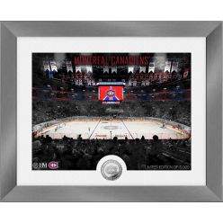 Montreal Canadiens Art Deco Silver Coin Photo Mint