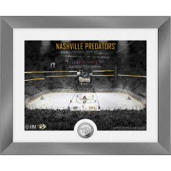 Nashville Predators Art Deco Silver Coin Photo Mint