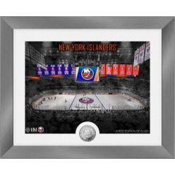 New York Islanders Art Deco Silver Coin Photo Mint
