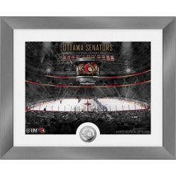 Ottawa Senators Art Deco Silver Coin Photo Mint